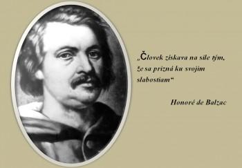 Aktuálny a inšpiratívny Honoré de Balzac sa narodil pred 220 rokmi