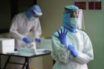 Malajzia, koronavírus, zdravotníci