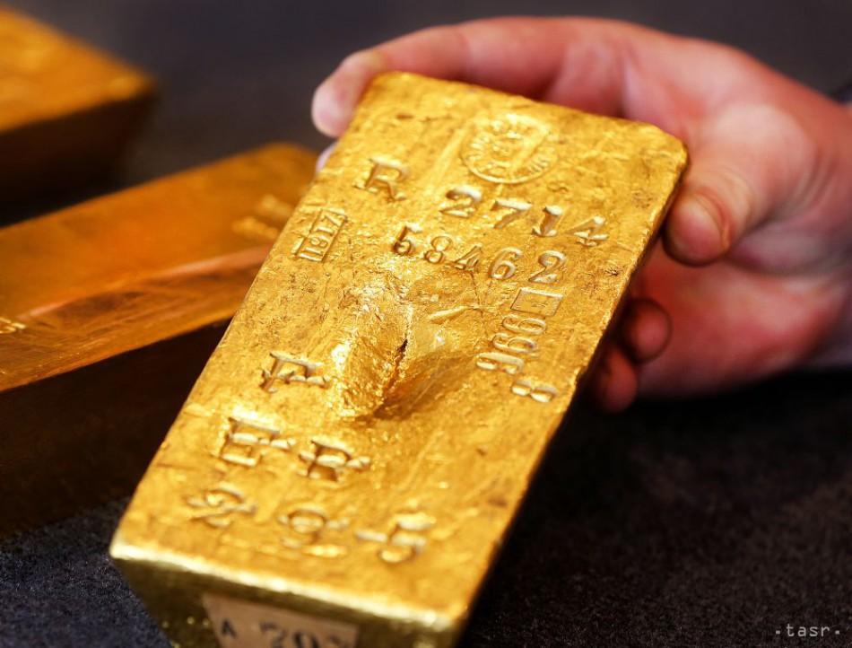2621b29b4 Cena zlata je najvyššia za 10 mesiacov