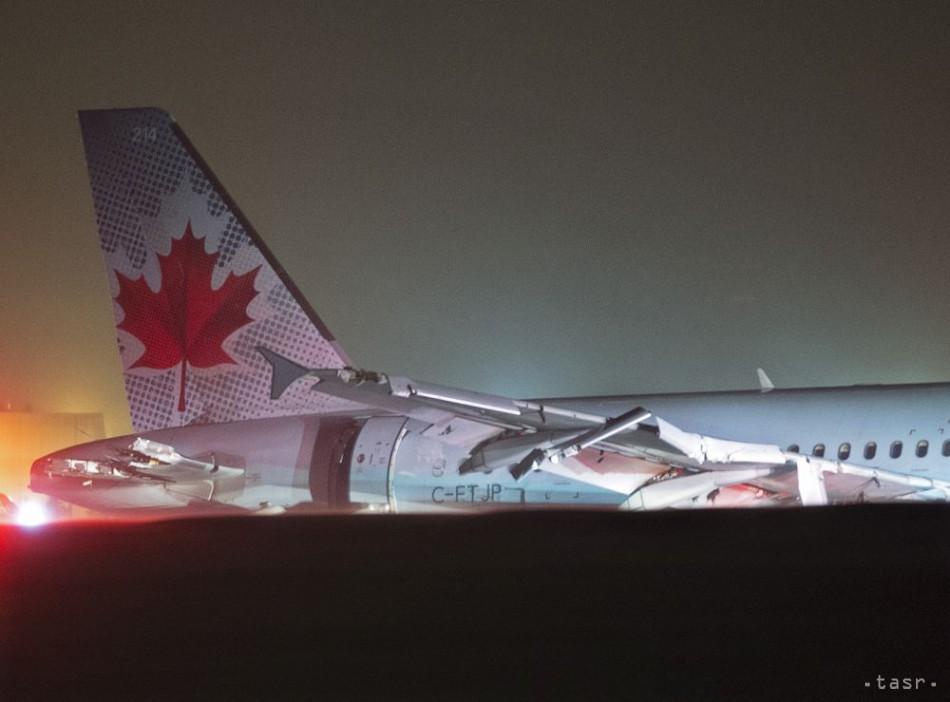 VIDEO: Airbus A320 zišiel pri pristávaní z dráhy, 25 ľudí sa zranilo