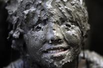 Deň blata v americkom meste Westland