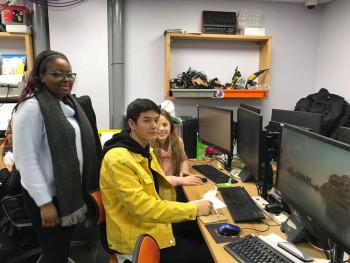 Študenti OA Levice boli na pracovnej stáži v anglických firmách