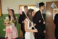 Deviataci ZŠ v Kráľovskom Chlmci sa lúčili so školou