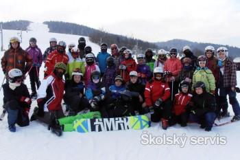 Zochovci sa zabávali na lyžiach a stihli písať aj básne