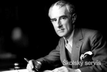 Francúzsky skladateľ Maurice Ravel, to je impresionizmus v hudbe