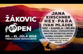 Festival Žákovic Open oslávi dospelosť