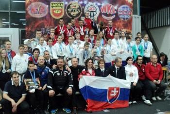 Karate klub Veľký Krtíš získal na Majstrovstvách sveta medaily