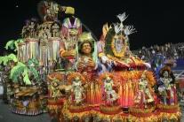 Sprievod, samba, karneval, Brazília