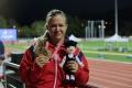 Deaflympiáda: Rekordérka Krištofičová obhájila zlato vo vrhu guľou