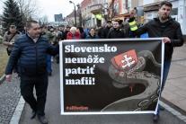 pochod, Michalovce