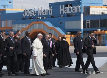 Pápež pricestoval na Kubu