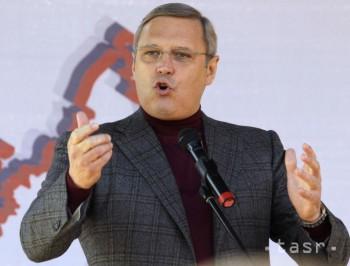 Vodca ruskej opozície sa stal obeťou útoku. Tentoraz len tortou