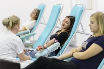Jesenná Univerzitná kvapka krvi na UK bola doposiaľ najúspešnejšia