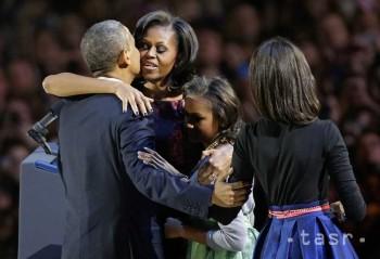 Prezidentské voľby podľa prognóz vyhral Barack Obama